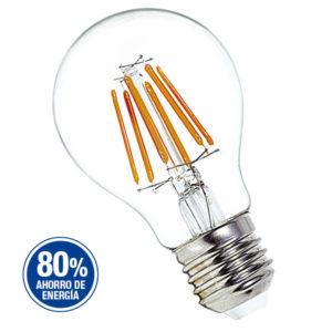 LAMPARA CON FILAMENTOS LED-VINTAGE